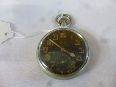 C1940 ROLEX MILITARY ISSUE POCKET WATCH A9597